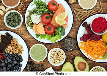 Health Food to Boost Brain Cognitive Functions - Health food...