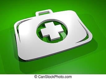 Health icon - Creative design of health icon