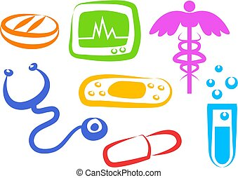 Health Icons - medical symbols