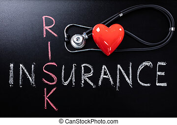 Health Insurance Concept With Risk Factor