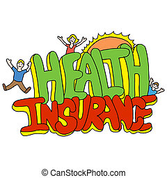 Health Insurance Message - An image of a health insurance...