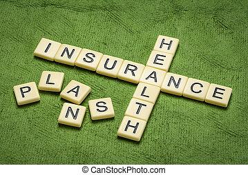 health insurance plans crossword