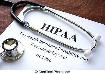 HIPAA - Health Insurance Portability and accountability act...