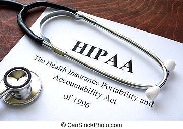 HIPAA - Health Insurance Portability and accountability act...