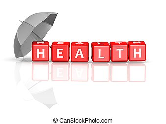Health Insurance - Rendered artwork with white background
