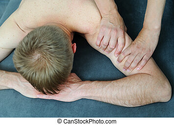 Health massage therapy.