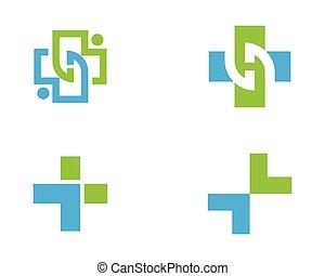 Medical Logo template vector - Health Medical Logo template...