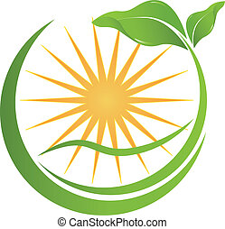 Health nature logo for your company