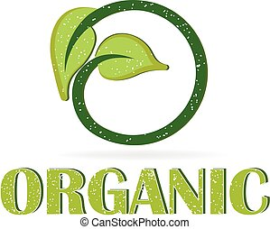 Health nature organic logo