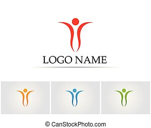 Health people care logo