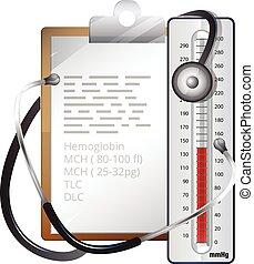 Health Records - Illustration