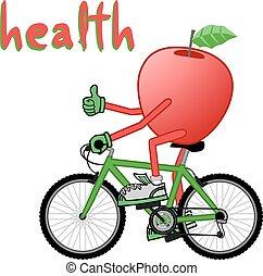Health sport - Creative design of health sport