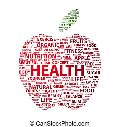 Health - Most important health related keywords