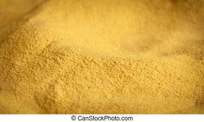 Health Supplement Powder Rotating