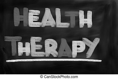 Health Therapy Concept