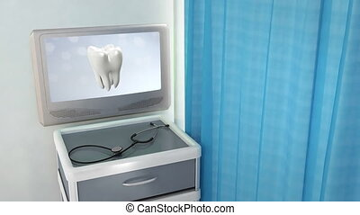 health tooth flare medical screen - teeth screen in medical...