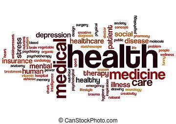 Health word cloud