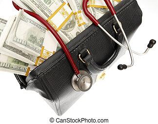 healthcare, élevé, cout