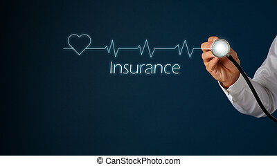 Healthcare and insurance concept