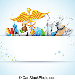 Healthcare and Medical Background - illustration of ...
