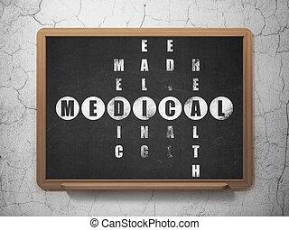 Healthcare concept: Medical in Crossword Puzzle - Healthcare...