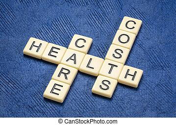 healthcare costs crossword