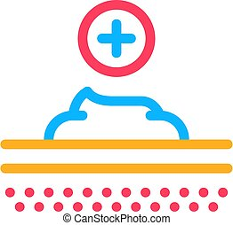 Healthcare Cream Icon Vector Outline Illustration