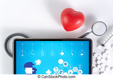 healthcare digital medical interface Electronic medical record