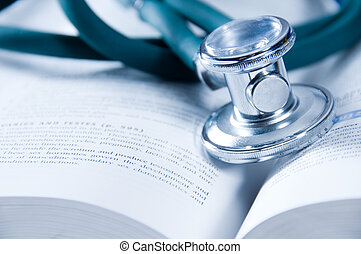 Healthcare - health care concept with a medical book