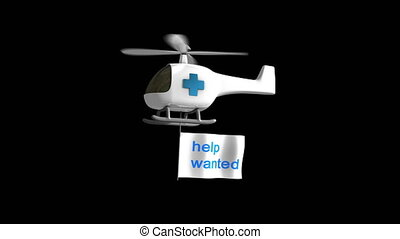 """Healthcare hiring. - """"Computer generated, Healthcare sector ..."""