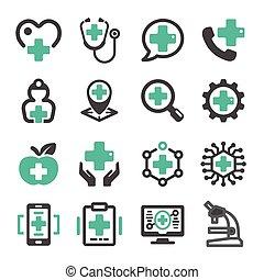 healthcare, icône
