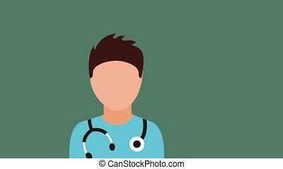 Healthcare icon design, Video Animation