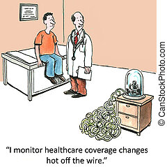 """Healthcare Insurance Changes - """"I monitor healthcare..."""