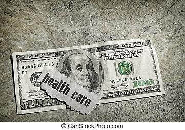 healthcare, készpénz