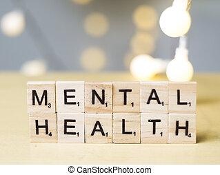 healthcare, mental, mots, santé, citations, concept