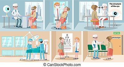 Healthcare Ophthalmology Horizontal Banners