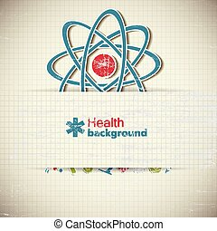 Healthcare Paper Background