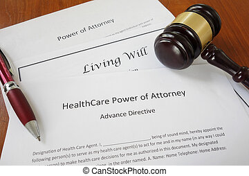 Power of Attorney - Healthcare Power of Attorney, Living...