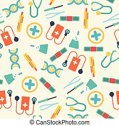 Healthcare Seamless Pattern