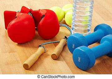 healthcare, und, fitness