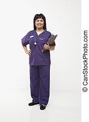 Healthcare worker.