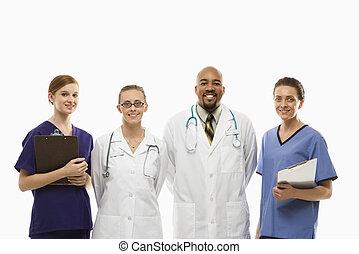 Healthcare workers.