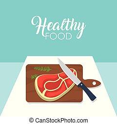 Healthy and delicious food