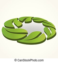 Healthy and nature logo