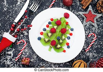 Healthy Christmas dessert snack breakfast for kids