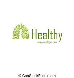 Healthy company logo