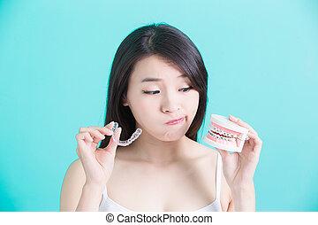 healthy dental concept