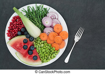 Healthy Diet Super Food Selection