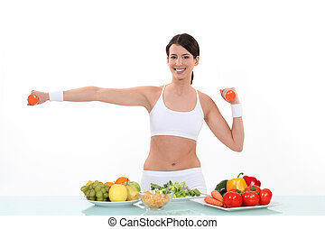 Healthy eating and fitness