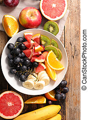 healthy eating, fresh fruits